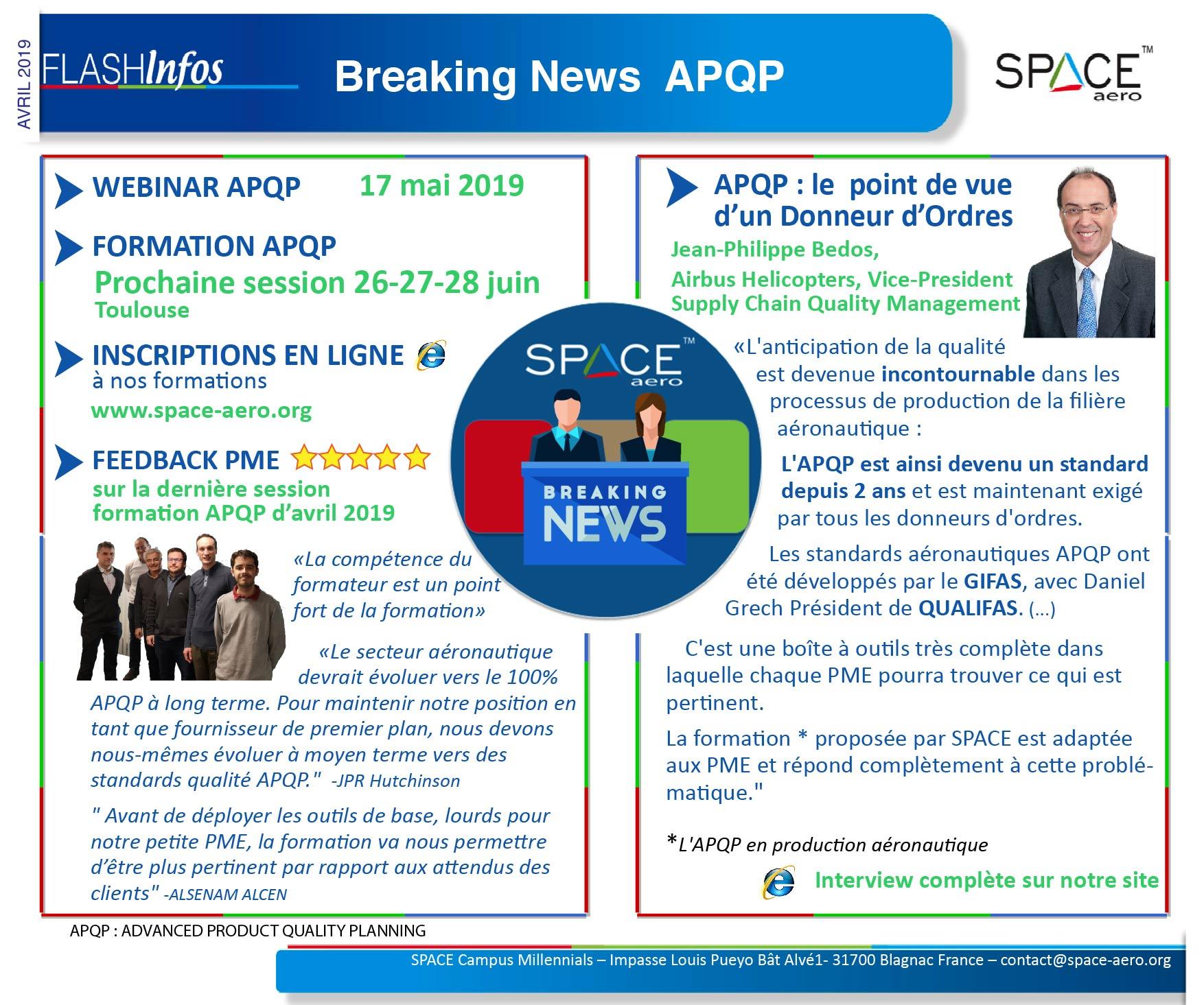 Flash Nr.54 : Breaking News – APQP