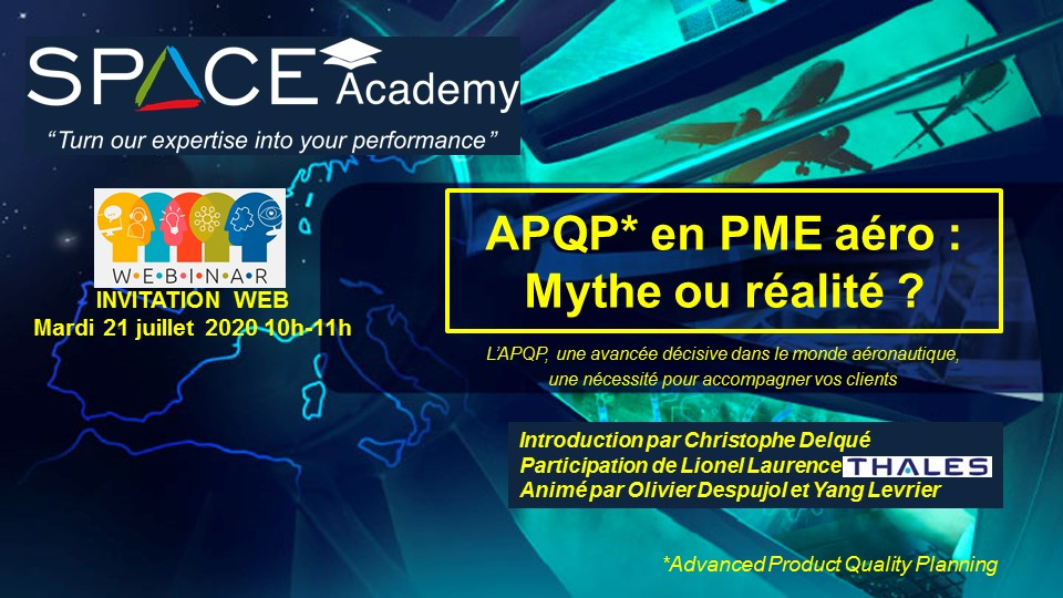 Webinar APQP 21 Juillet 2020